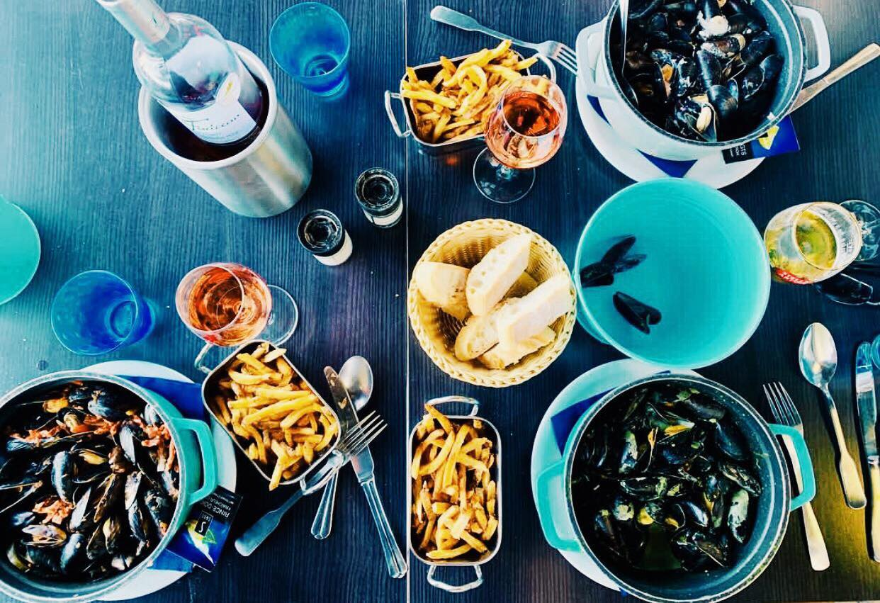 Les Moules Du Cabanon Restaurants Cuisine Francaise